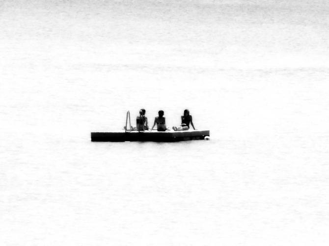 A few left adrift