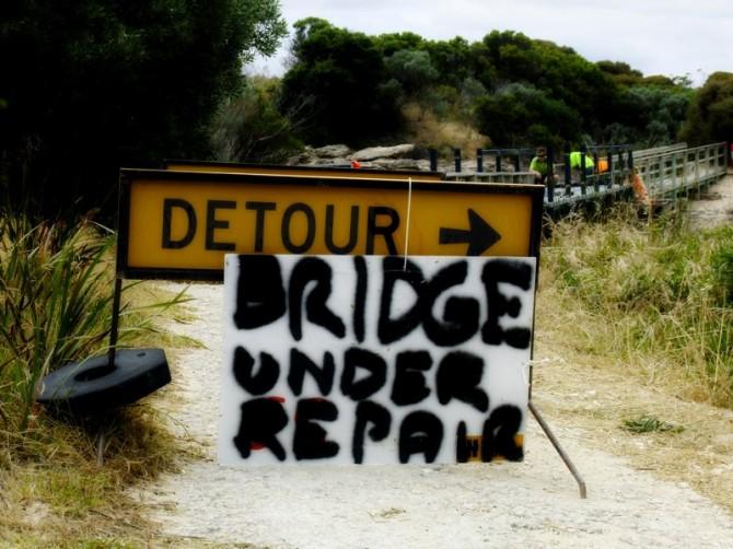 Under repairs