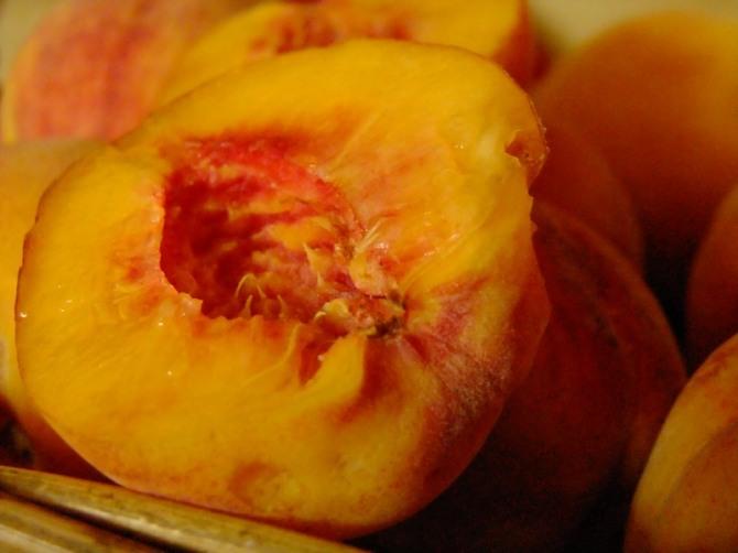 Poster peach